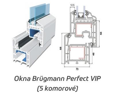 Plastová okna Brügmann Perfect VIP